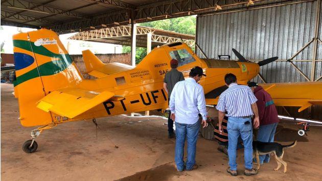 Em Riolândia, APPA acompanha as primeiras pulverizações aéreas UBV