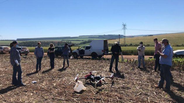 Técnicos da APPA avaliam a utilização de drones para pulverização UBV