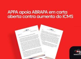 Contra a majoração do ICMS, APPA apoia ABRAPA em Carta Aberta