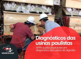 APPA apóia produtores em diagnóstico das usinas de algodão no estado de São Paulo