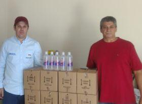 APPA doa 150 litros de álcool em gel para municípios paulistas produtores de algodão
