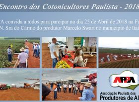 16º Encontro dos Cotonicultores Paulista - 2018