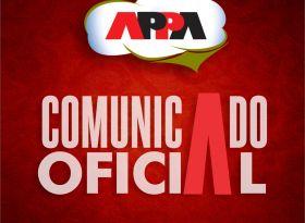 APPA divulga editais de comunicação de chapa e convocação da Assembleia Geral Ordinária